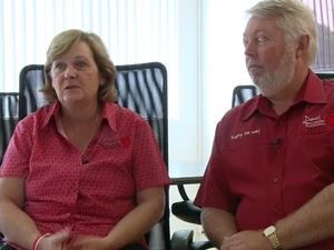 Bruce and Denise Morcombe on the Australian spirit