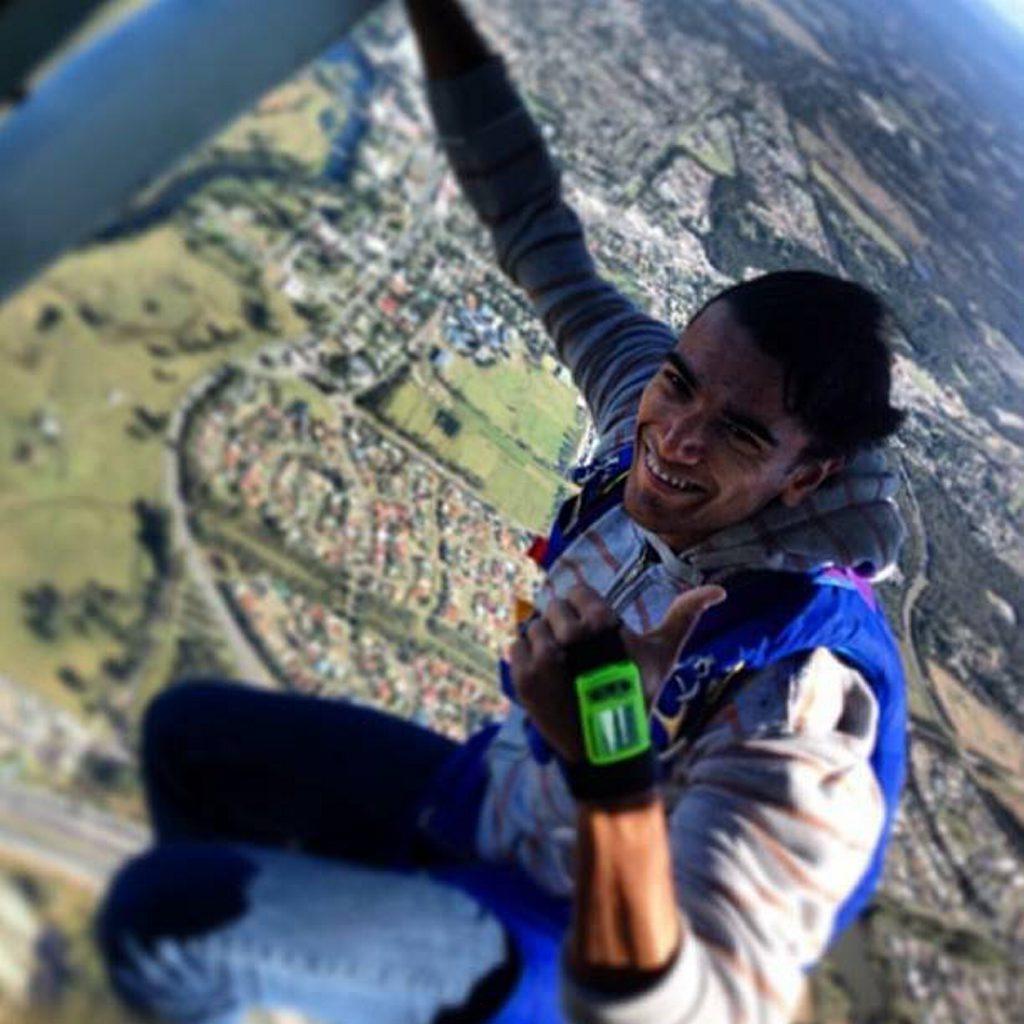 Tobias Worner has lost his parachute.