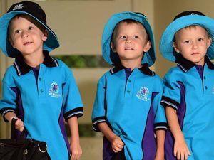 Mum's plan to let her triplets cut their ties
