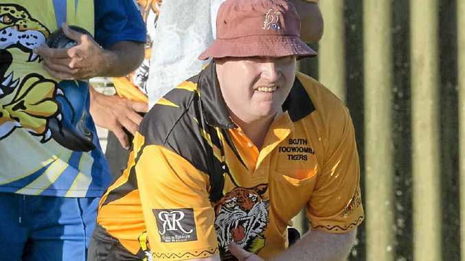 STEPPING UP: Gary Gray will play skip for South Toowoomba today in Premier League Bowls.