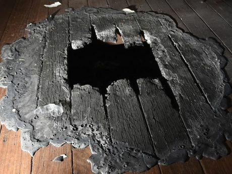 Damage caused by the arson attack on the Toowoomba mosque.