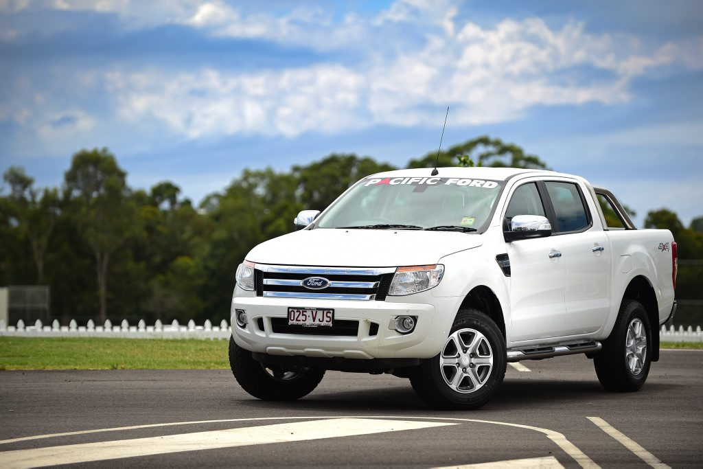 The Ford PX Ranger XLT 4x4 Double-Cab