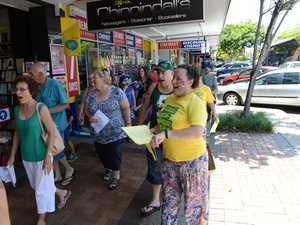 Bundy locals unite to sing Aussie anthem