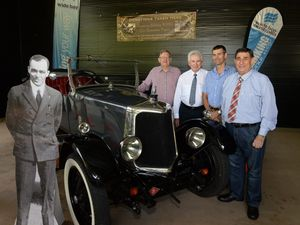 Historic Hinkler car donated to museum