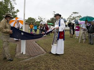 Acland flag washing symbolises Aussie spirit