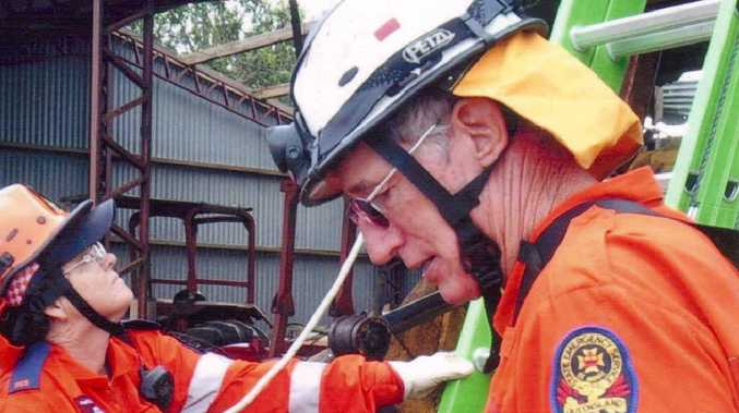 Mirani SES deputy local controller Michael Sarich's skills and expertise is invaluable.