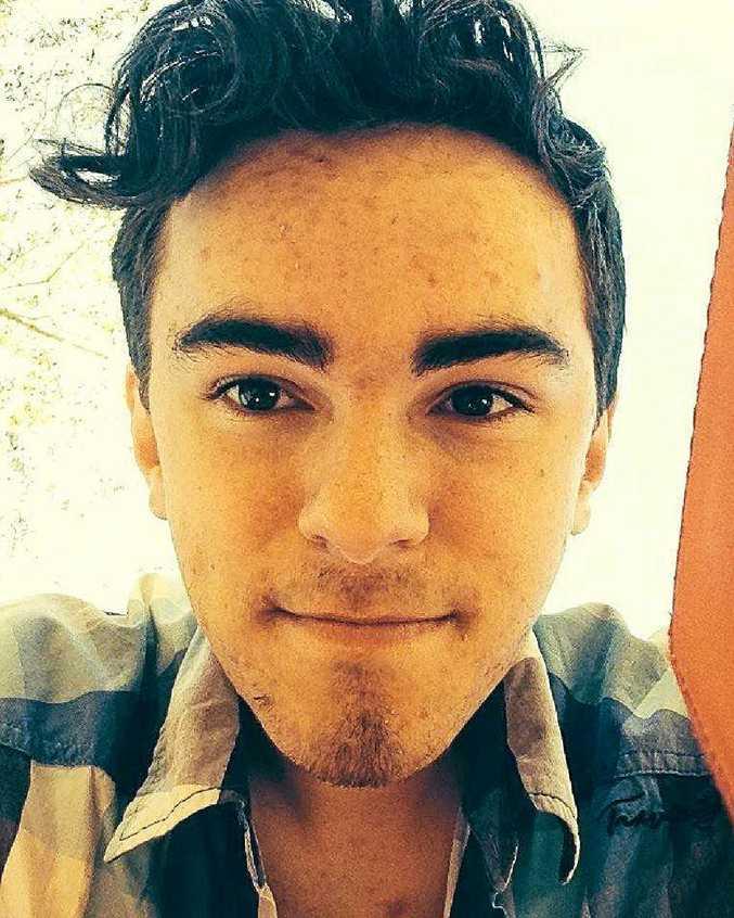 TRAGIC DEATH: Gabriel Runge died in a crash during a New Zealand school hiking trip.