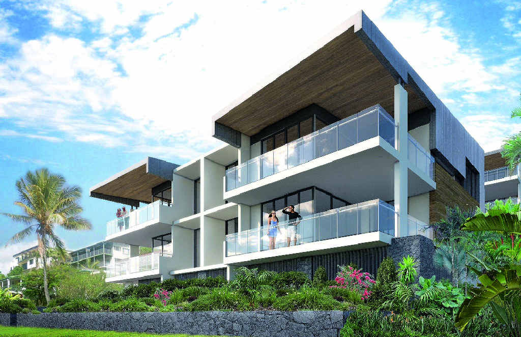 PROVING POPULAR: An artist's impression of Pacific Rise at Coolum Beach.