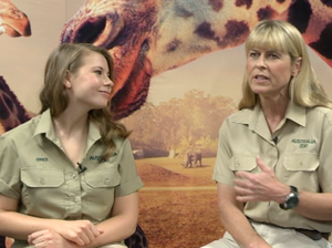Terri Irwin proud to call Australia home