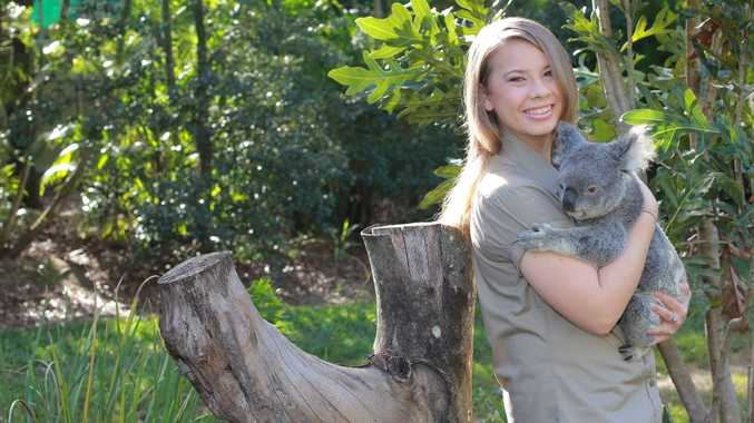 Bindi Irwin.. heart is at Australia Zoo