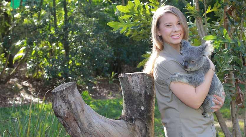 Bindi Irwin.. heart is at Australia Zoo
