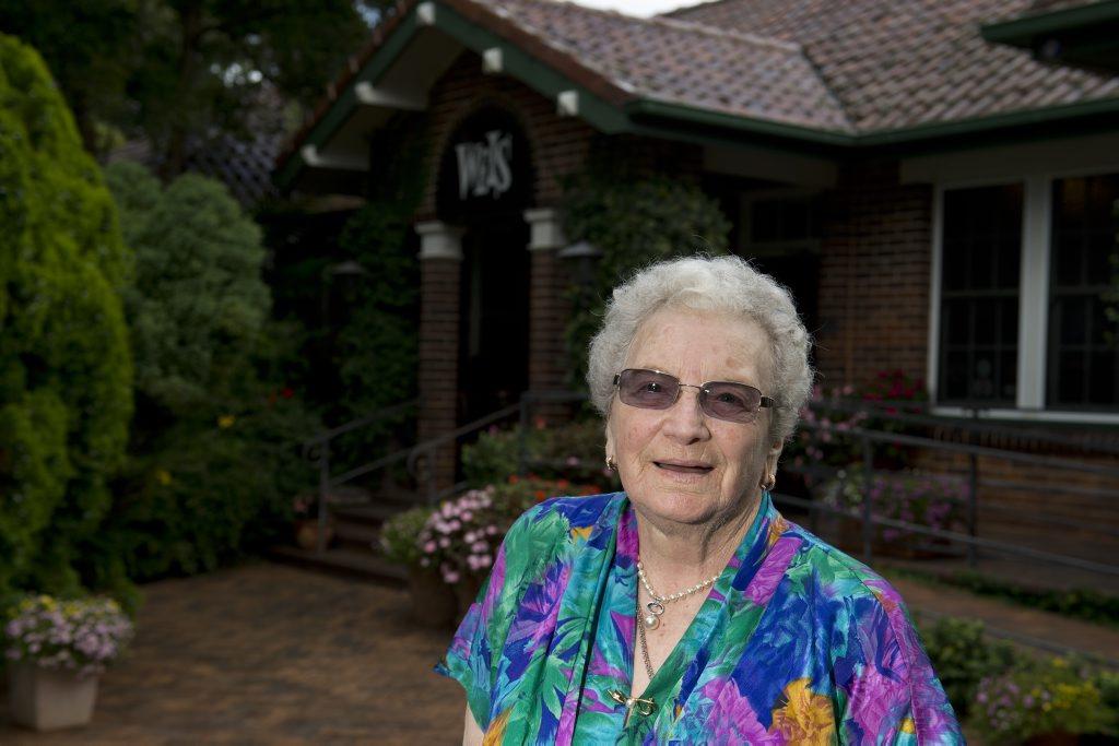 Edie Brown, who was celebrating her 88th birthday, is a regular of Weis and is disappointed that the iconic Toowomba restaurant will close.