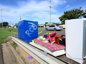 Rubbish dumped as charity