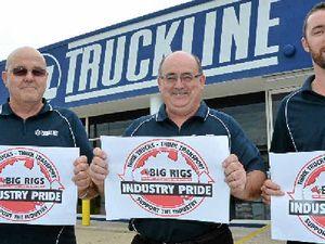 Truckline support industry pride