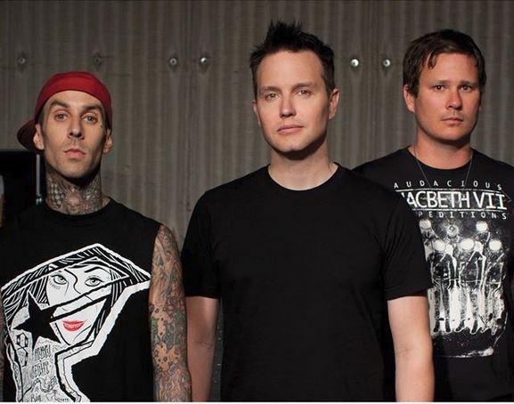 Blink-182 (from Facebook).