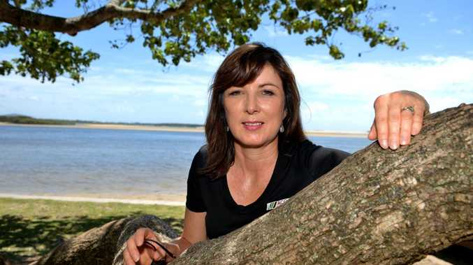 Keryn Jones from Sunshine Coast Regional Council Environment outlines key election issues. Photo: Warren Lynam / Sunshine Coast Daily