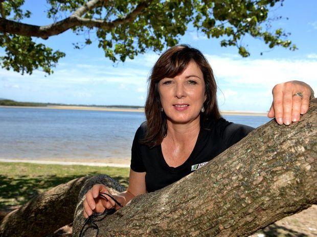 Keryn Jones from Sunshine Coast Regional Council Environment outlines key election issues. Photo: Warren Lynam / Sunshine Coast Daily