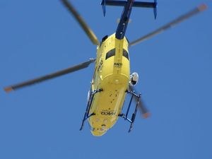17-year-old airlifted with critical injuries after crash