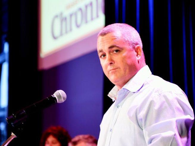 Maryborough state election candidates at the public forum - Damian Huxham. Photo by Valerie Horton/Fraser Coast Chronicle