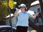 Creagh Bagnall at the Mackay Tennis Association courts on Kippen St, South Mackay. The club's 2015 season will begin soon.