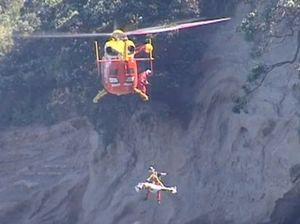 85-year-old survives 30 metre clifftop plunge