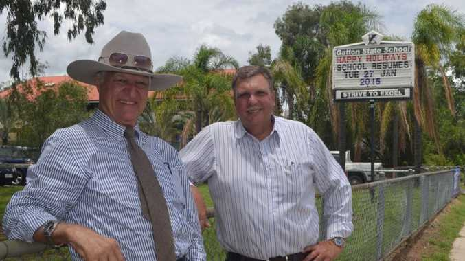 Bob Katter and Dave Neuendorf launched their school