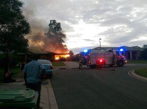 House badly damaged by blaze at Goodna overnight