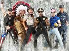 Leather and feathers as the Village People come Down Under