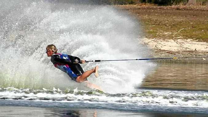 Ashleigh Stebbeings is now the International Waterski and Wakeboard Federation female athlete of the year.