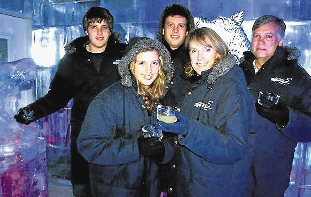 The van Breda family. Father Martin, wife Teresa and son Rudi have been killed in an apparent axe attack at their South African home. Daughter Marli is now in a critical condition.