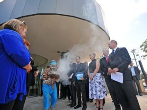 Official opening hands Coffs the best Court House in NSW