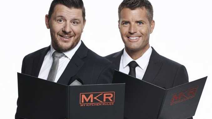 My Kitchen Rules judges Manu Feildel and Pete Evans.