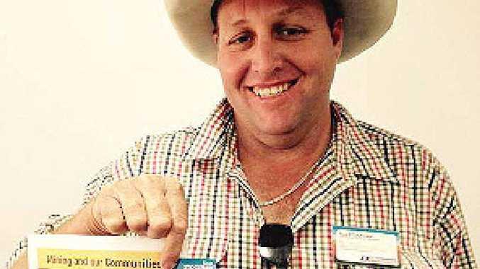 FAIR GO: Katter's Australian Party candidate Ross Stockham.