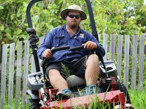 Mowers hum in hot times