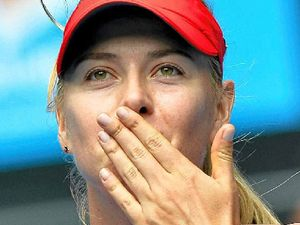 Sharapova looks for upset after making final