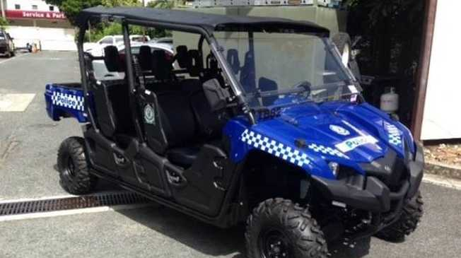 Police gave launched a new all-terrain vehicle.