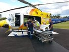 The Toowoomba RACQ CareFlight Rescue crew. Photo RACQ CareFlight Rescue