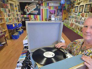 Vinyl records are the new black