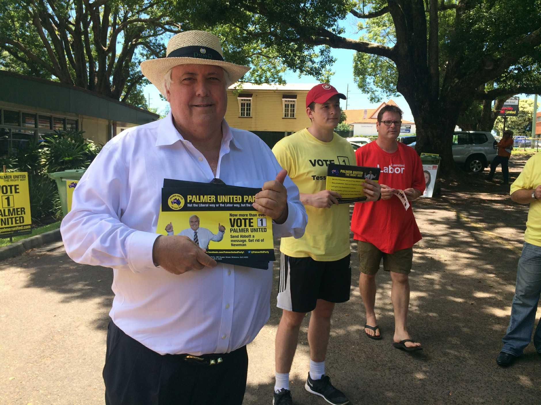 Clive Palmer at Buderim
