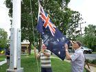 Flag flies again at Marburg