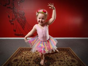 Chiana's in a spin for World Tutu Day
