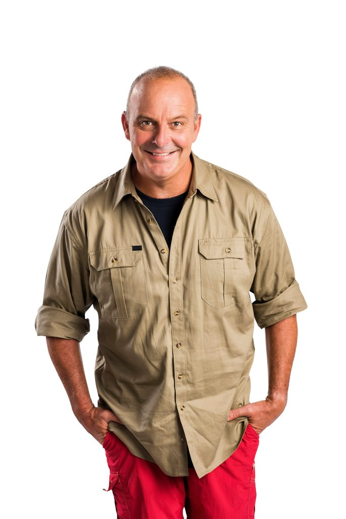 Andrew Daddo stars in the TV series I'm A Celebrity... Get Me Out of Here! Australia.