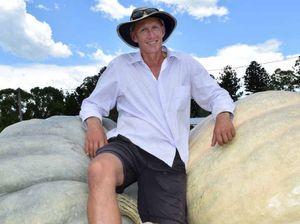 Kyogle farmer smashing pumpkin records across Australasia