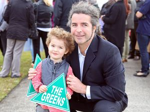 Greens hold rally in shadow of Solitary Islands Marine Park