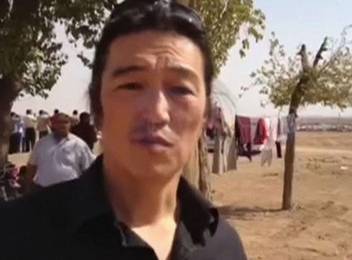 Kenji Goto was seized in October in Syria