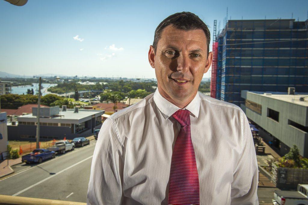 Craig Doyle, Gladstone Ports Corporation CEO, at the GPC offices on Goondoon Street.