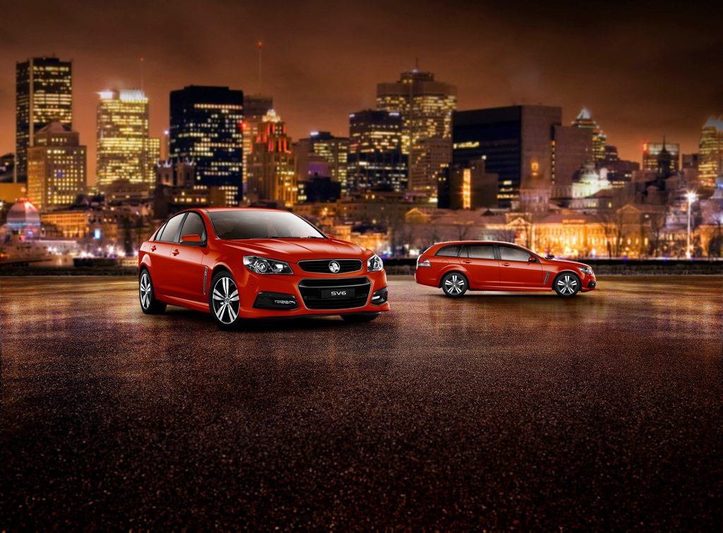 The 2015 Holden Commodore and Sportwagon.