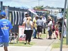 Hervey Bay High polling booth in Pialba on election day.