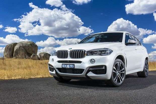 The second generation BMW X6.
