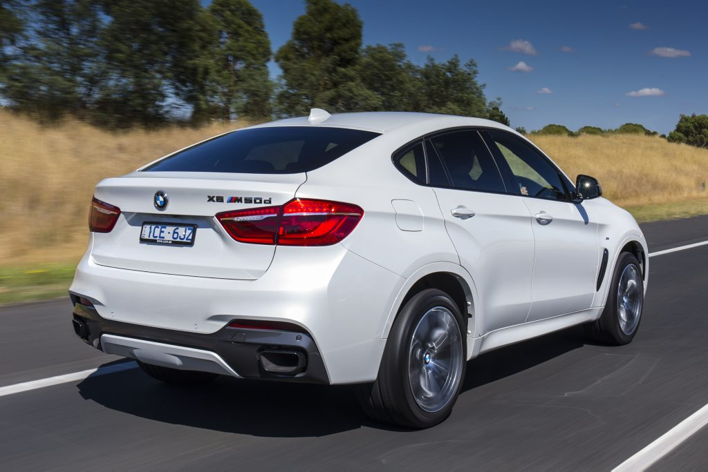 BMW has launched the second generation X6.
